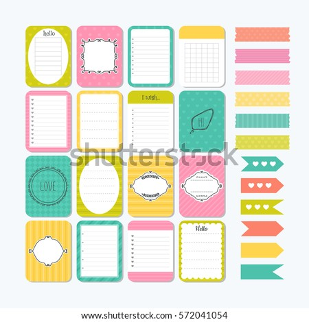 template for notebooks. cute...