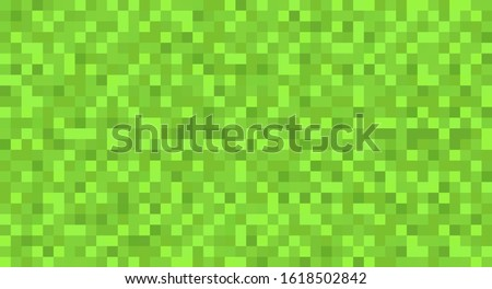 template green seamless pixel