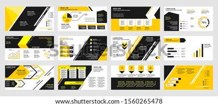 template layout company profile and presentation for business