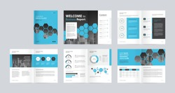 template layout design with cover page for company profile, annual report, brochures, flyers, presentations, leaflet, magazine, book . and vector a4 size for editable.