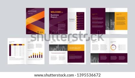 Modern Company Profile Template - Download Free Vectors