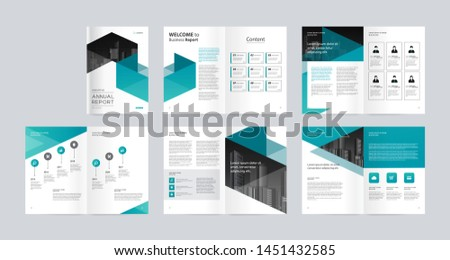 template layout design with cover page for company profile ,annual report , brochures, flyers, presentations, leaflet, magazine,book . and vector a4 size for editable.