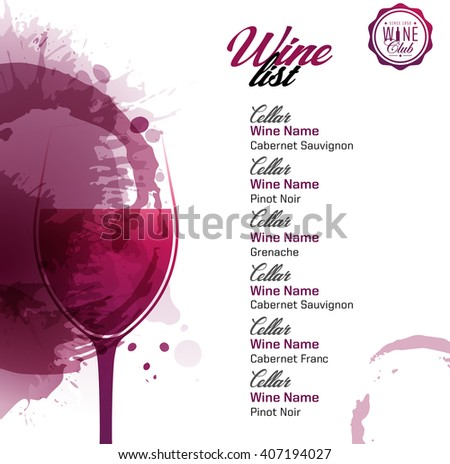 Illustrator vine brushes download free vector art stock template list or wine tasting illustration glass of wine artistic design background with wine pronofoot35fo Images