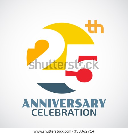 Shutterstock Template Logo 25th anniversary with a circle and the number 20 in it and labeled the anniversary year.