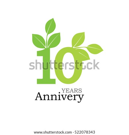 Vector Images Illustrations And Cliparts Template Logo 10th