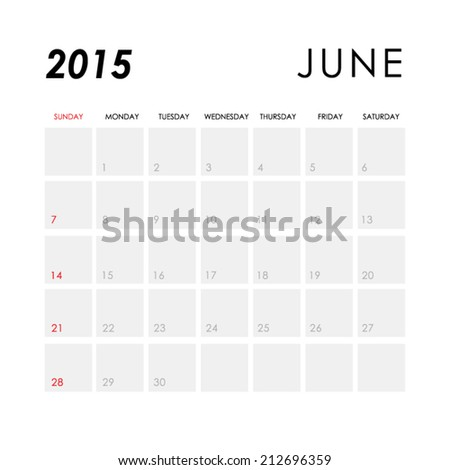 stock-vector-template-of-calendar-for-june