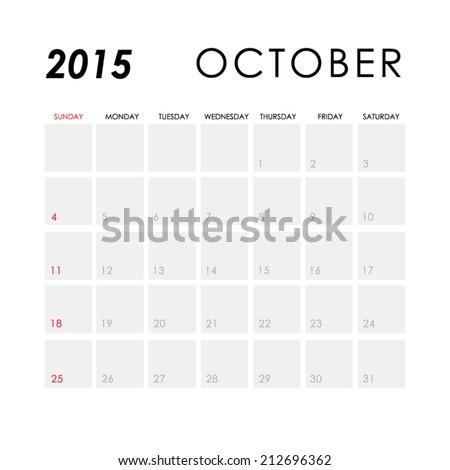stock-vector-template-of-calendar-for-october