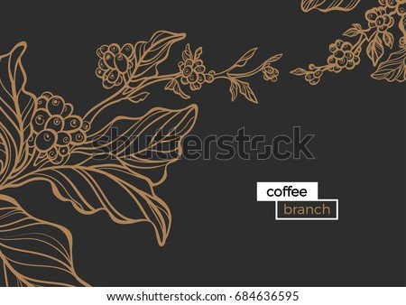 template of golden branch of
