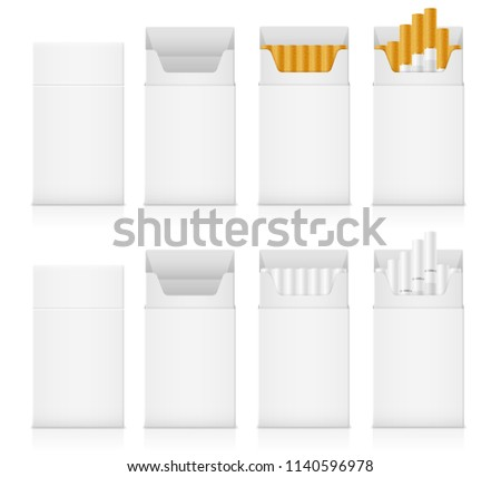 cigarette pack templates download free vector art stock graphics