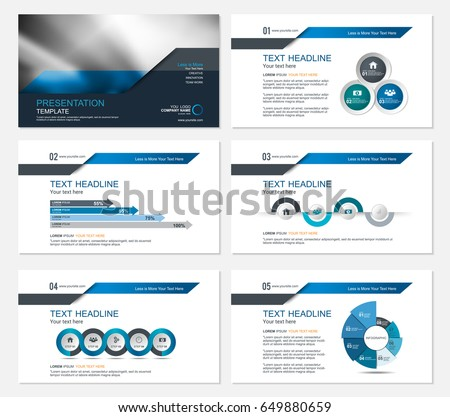 template presentation slides background design