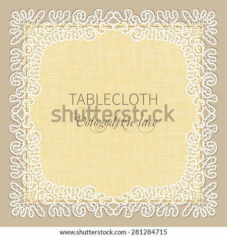 template wedding invitations and cards tablecloth or napkin with