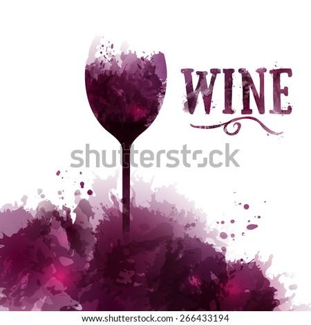 template wine list  invitation