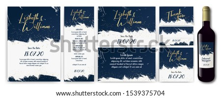 templates with white  blue  and