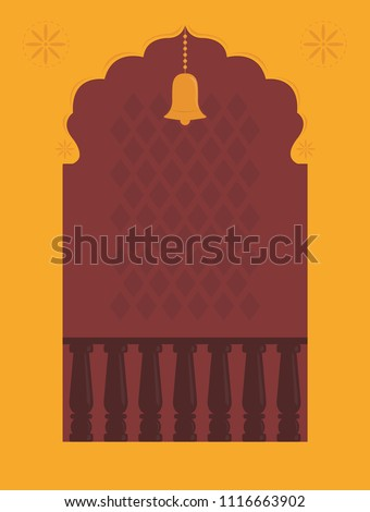 temple door design