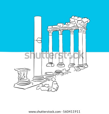 temple of apollon  antalya