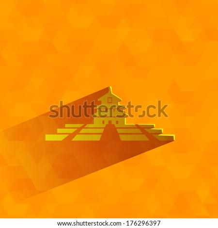 temple of heaven vector format