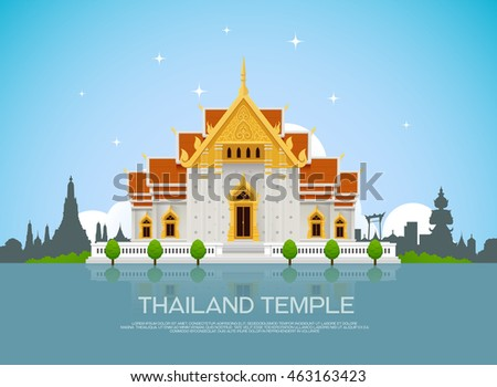 temple thailand landmark and