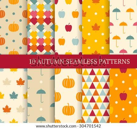 Halloween Pattern Set Download Free Vector Art Stock Graphics