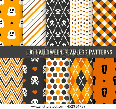 Halloween Vector Patterns - Download Free Vector Art, Stock ...