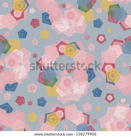 tender abstract geometrical