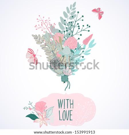 tender bridal bouquet