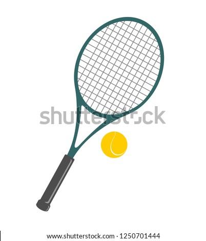 Tennis Ball And Racket Clip Art