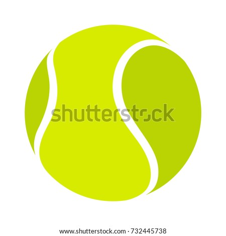 tennis ball icon