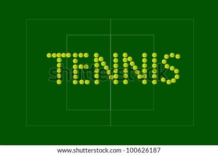 Tennis Ball Sign
