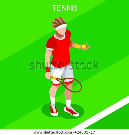 tennis player sportsman games