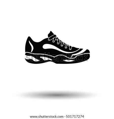 tennis sneaker icon white
