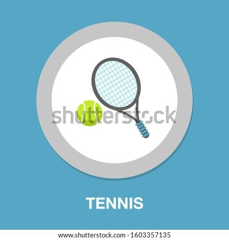 tennis sport icon   play tennis
