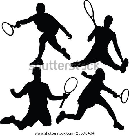 tennis, vector