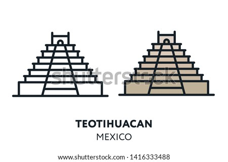 Maya Pyramids - Download Free Vectors, Clipart Graphics