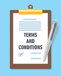 terms and condition agreement contract