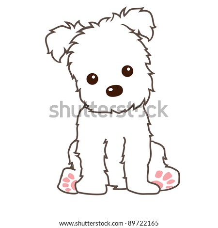 terrier dog vector