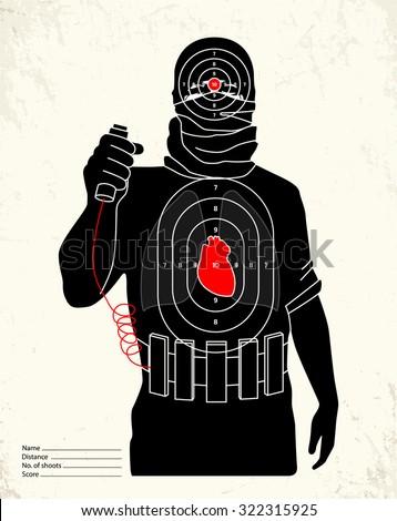 terrorist   shooting range