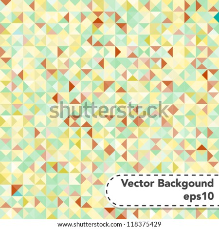 Tessellating Abstract Pastel Colored Background