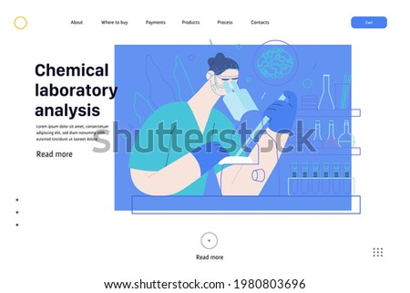 Test tube baby - medical insurance web template Stock photo ©