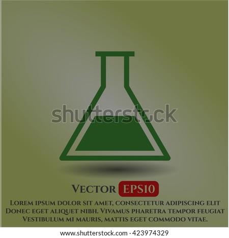 Test tube symbol
