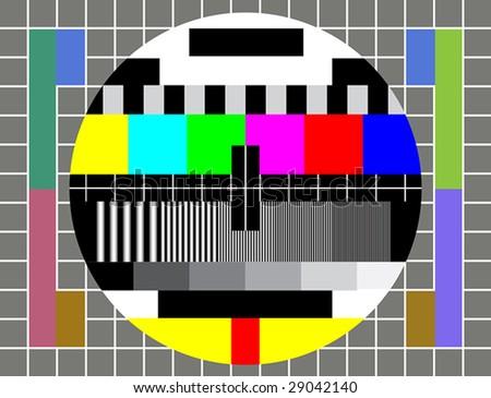 test tv screen