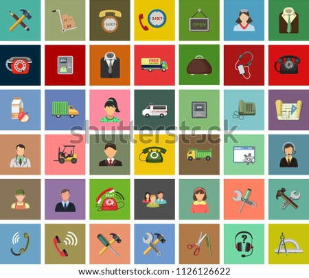 Testimonials vector Icons. Customer Relationship Management, Feedback, Review, Emotion symbols and more Icons - customer service icons set - contact support sign and symbols