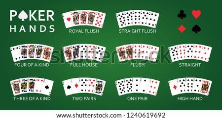 texas hold'em poker hand