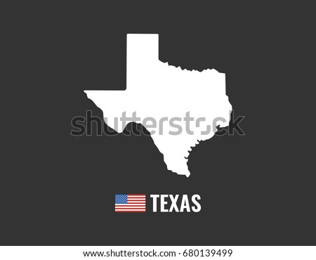 Texas Flag And Map Vectors Download Free Vector Art Stock - Usa texas map