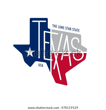 texas related t shirt design
