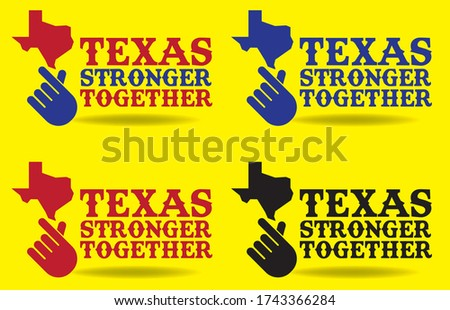 texas stronger together logo