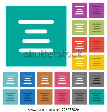 text align center multi colored