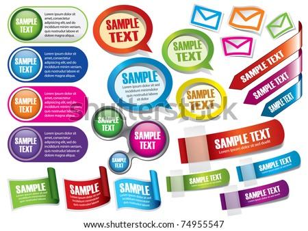 text box templates