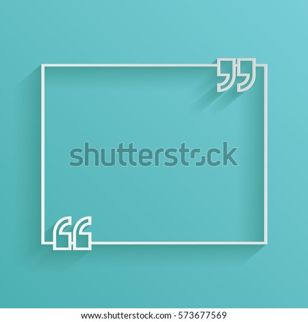 text quote symbol