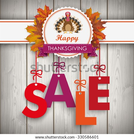 text sale with thanksgiving