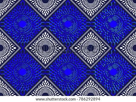 Textile fashion african print fabric super wax